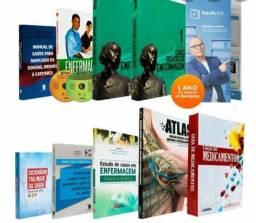 Kit completo livros Tec enfermagem