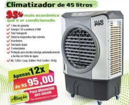Climatizador de 45L - 12x no cartão