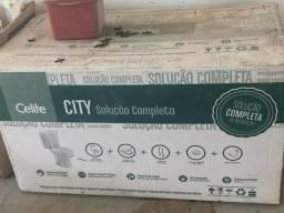 Kit vaso sanitário Celite City