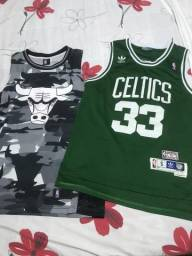 Promoção Vendo camisas de basquete originais