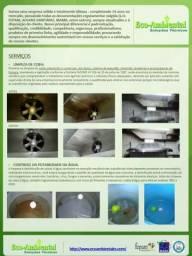 Controle de Insetos e Roedores e Higienização de reservatórios