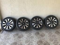 Rodas originais da Nissan Kicks aro 17 - 2018