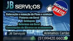 Jb serviços construção,pintura,manutenção
