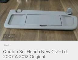 Quebra Sol Direito Honda New Civic original