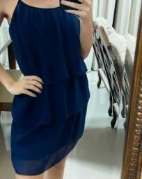 Vestido azul tamanho p