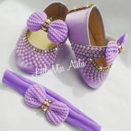 Sapato para bebê e criança
