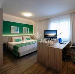 Flat disponível para venda no Radisson Hotel Oscar Freire, com 1 dormitório e 1 vaga de ga