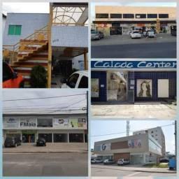 Lojas e salas comercial na avenida em jd atlântico, b. novo e casa caiada, todos os preços