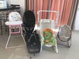Carrinho e bebê conforto e etc !
