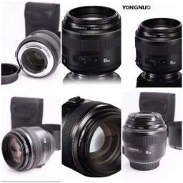Lente Yongnuo 85mm F1.8 para Canon