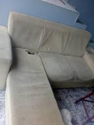 Sofá 3 lugares com chaise