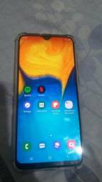 Samsung A20 550 pra hoje com todos acessórios