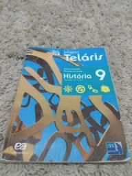 Projeto Teláris Livro de História 9° ano- Semi Novo