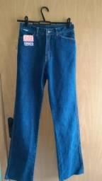 Calças jeans retrô