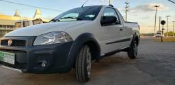 Fiat strada working 1.4 completa cabine simples - 2014