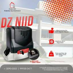 Kit Motor Portão Eletrônico Deslizante Dz Niid Garen Rápido