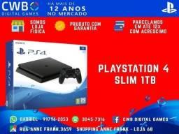 Playstation 4,1 tera byte,Novo lacrado e c/ garantia de 1ano-somos loja fisica -PS4