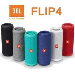 Caixa De Som Bluetooth Jbl Flip 4 Caixa Portátil