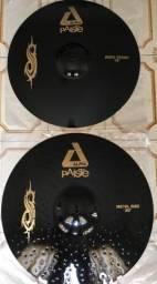 08 pratos Paiste Black Alpha Joey Jordison