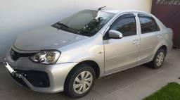 Vendo Etios Sedan X 2017 automático/ flex 42mil