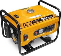 Gerador de Energia à Gasolina 3,5 KVA 4 Tempos Partida Manual Bivolt 110/220V GM-3500 CSM