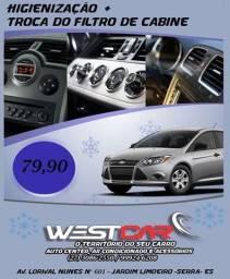 Ar-condicionado,auto center e acessórios