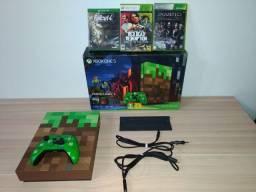 Xbox One S Edição Limitada Minecraft 1TB