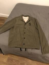 Jaqueta forrada Sismo verde musgo