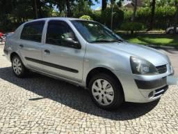 Renault clio sedan 2006 1.6 hi-flex completissimo de fabrica pouco rodado revisado