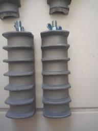 Rebobinadeira manual e modelos feito em aluminio