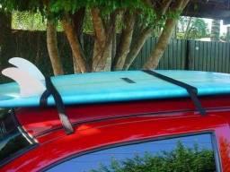 Rack fita p/ levar Pranchas no teto do carro