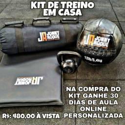 KIT DE TREINO FUNCIONAL EM CASA