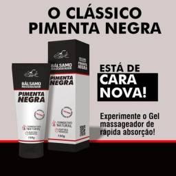Bálsamo Massageador Pimenta Negra 150g BelKit