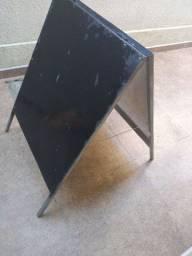 Placa cavalete