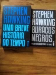 Kit livros Stephen Hawking