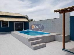 RERE:Casa 2 quartos 1 suíte, piscina e área gourmet,na planta - Unamar - Cabo Frio!!
