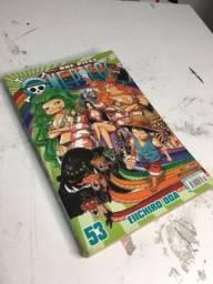 MANGÁ one piece edição numero 53!!