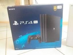 PS4 PRO 1TB Impecável