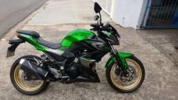 Kawasaki Z300 2018 verde serie especial com ABS impecavel com apenas 20.000km