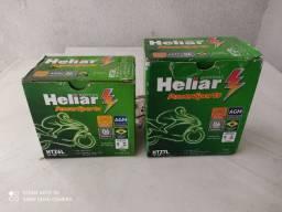 Bateria de motocicleta nova e com garantia