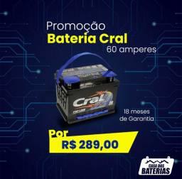 Bateria cral 60 amp