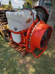 Pulverizador kuhn com turbina