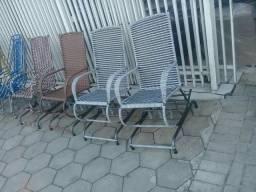 Cadeira de Balanço novas com molas de aço lindo design