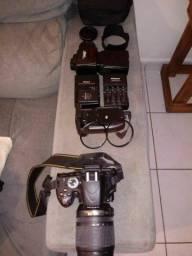 Título do anúncio: Câmera nikon D5100