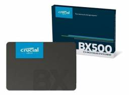 SSD 120GB CRUCIAL com tecnologia 3DNand, sata, novo, original, lacrado
