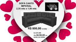 *Promoção Impérdível!!! Sofá de Canto Imperial com Braços +Frete Grátis*