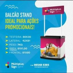 Balcão Stand PVC