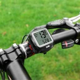 Título do anúncio: Velocímetro Digital Para Bike Ciclismo Odômetro Com Fio Prova d'água 19 Funções
