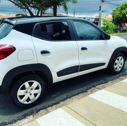 Título do anúncio: Renault Kwid Zen 18/19, branco, 22.800 km rodados.