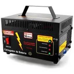 Carregador Bateria 12 volts 16A - Automático Inteligente